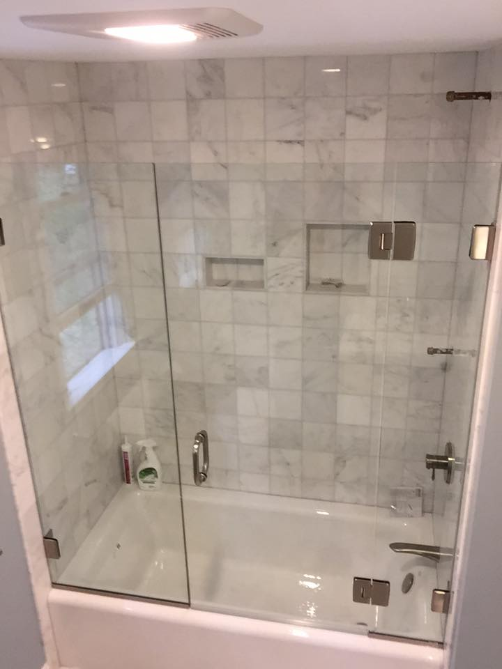 Glass Shower Doors and Enclosures – Glass Tub Enclosures