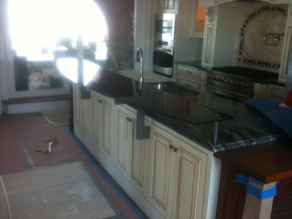 Kitchen Cabinet Glass Glass Tabletops Glass Counter