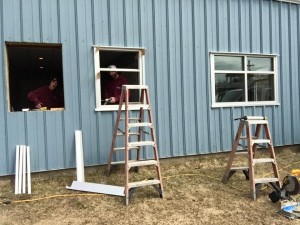 New Aluminum Windows