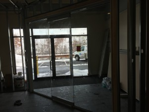 Commercial Interior Conference Glass Wall Partition