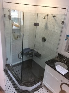Multiple Panel Custom Shower